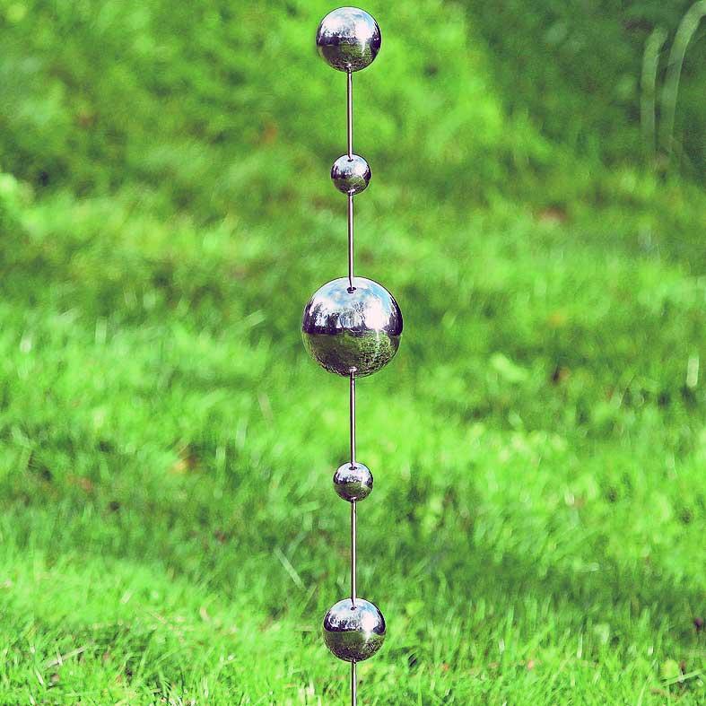 Silverklot på pinne