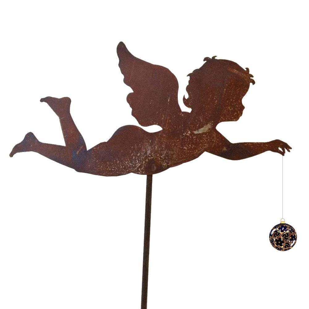 Kerub ängel på pinne julpynt
