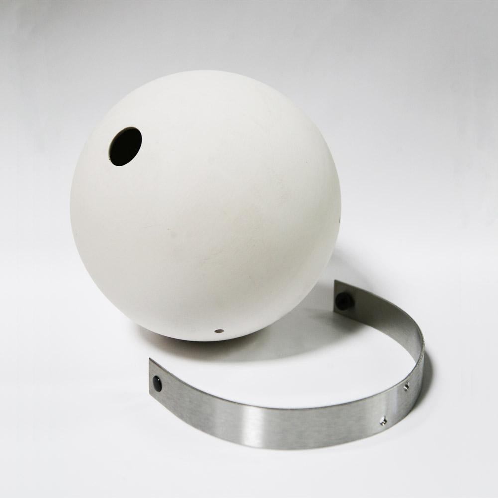 Birdball holk vit vägg