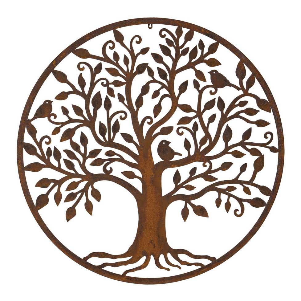 Livets träd, ek i ring