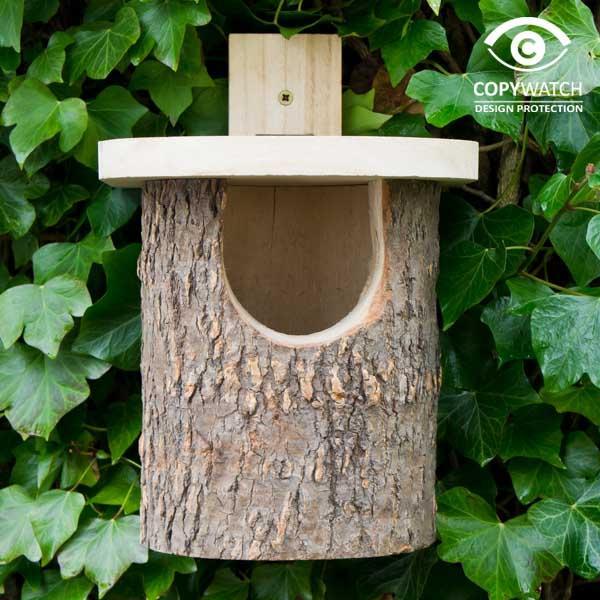 Fågelholk trä fsc