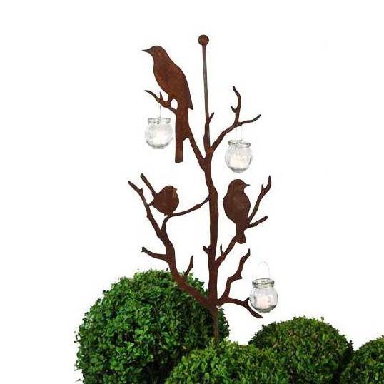 Fåglar på spjut
