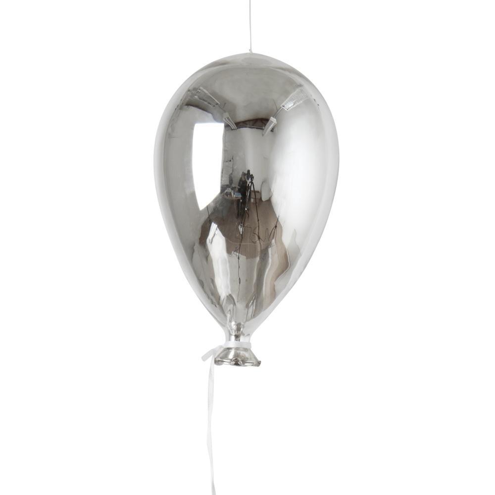 Glasballong hängande