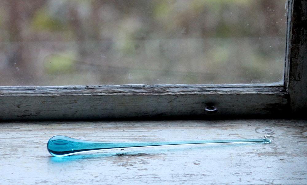24cm, ljusblå/turkos