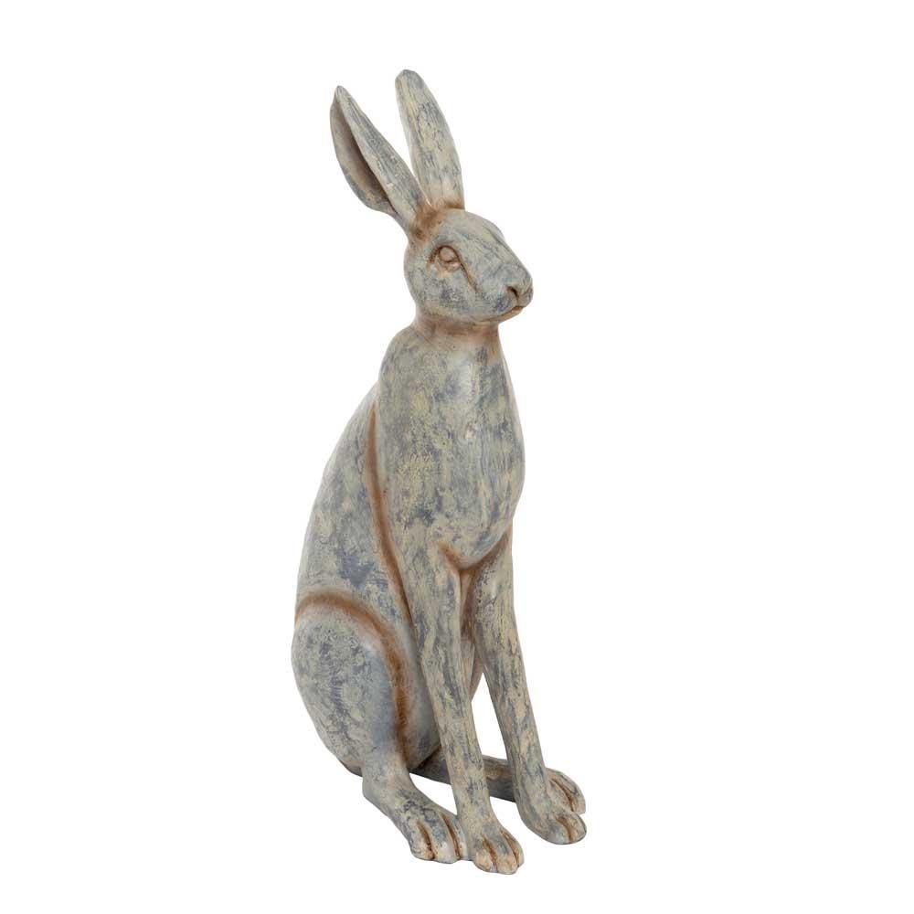 Hare grå sitter