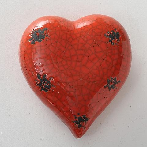 Hjärta keramik