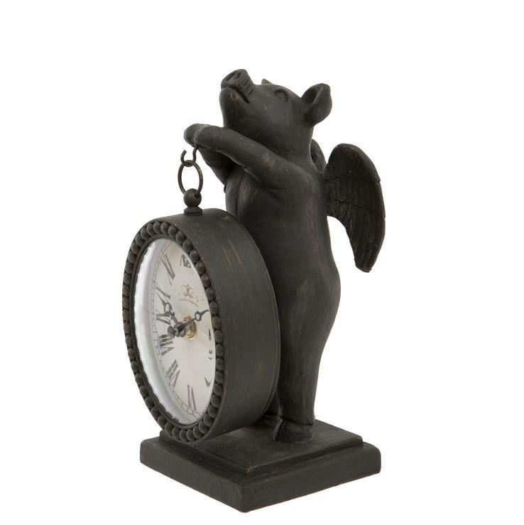 Gris med klocka