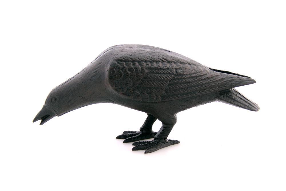 Kråka gjutjärn svart