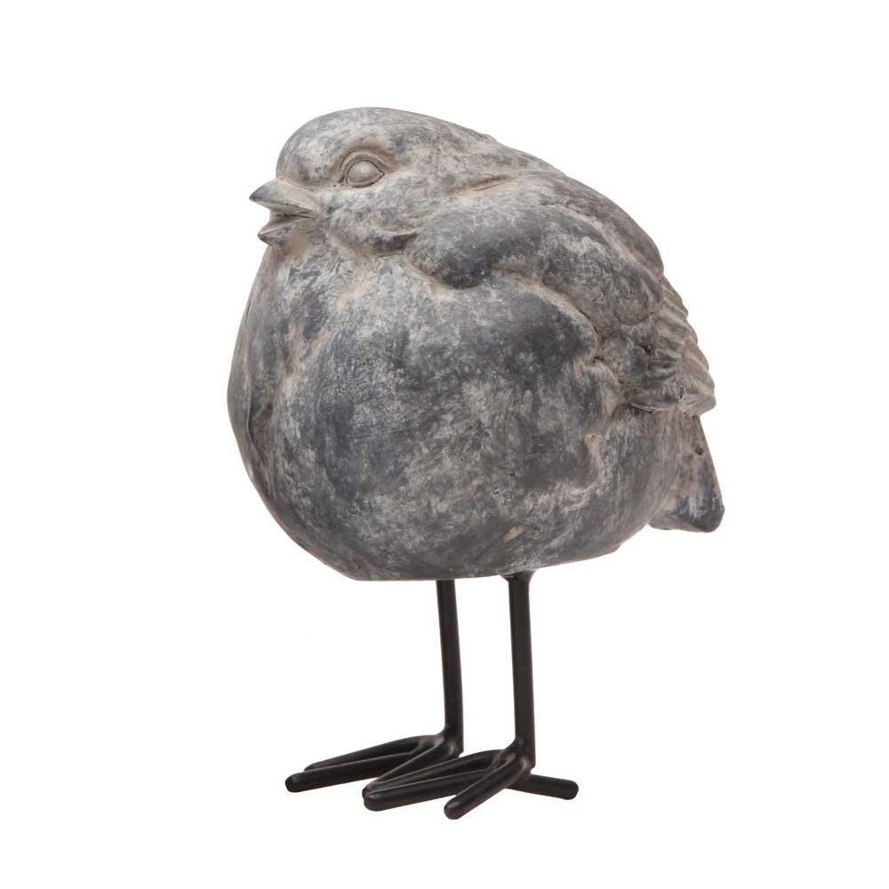 fågel stående eldgarden