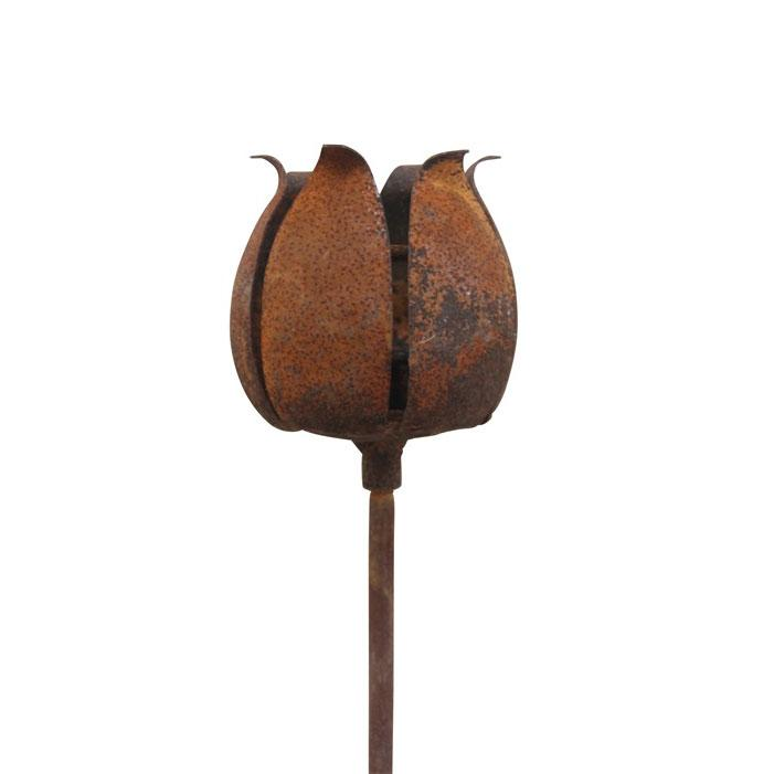 Värmeljushållare på pinne Eldgarden