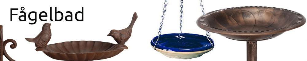Snygga fågelbad