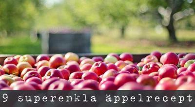Äpplen recept