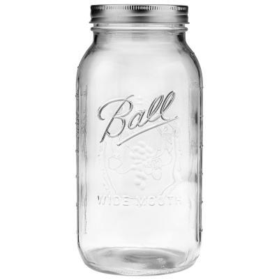 Ball Mason Jars glasburkar Half gallon stor