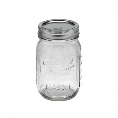 Ball Mason Jar glasburk dricksglas pint