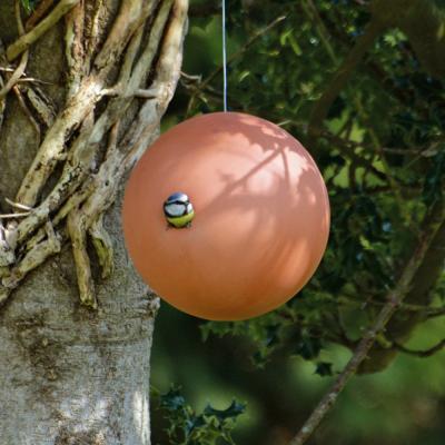 Birdball holk terracotta hängande