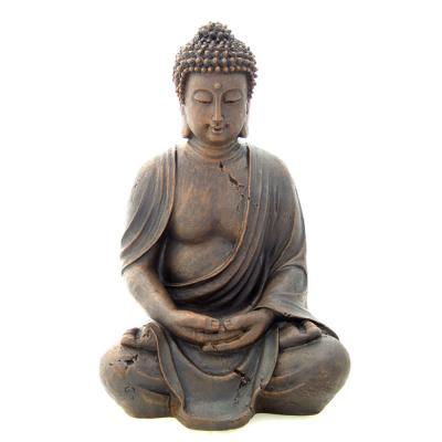 Buddha Trädgård Staty