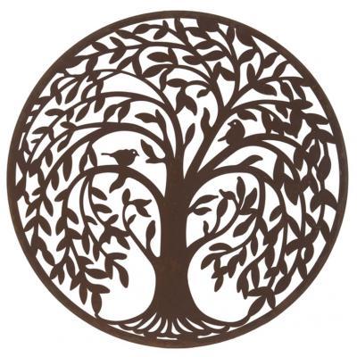 Livets träd blåsigt