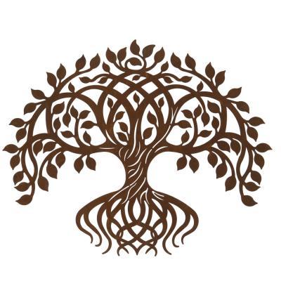 Livets träd med rötter