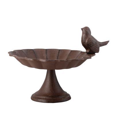 Fågelbad på låg fot