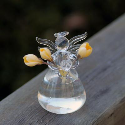 Glasvas, ängel