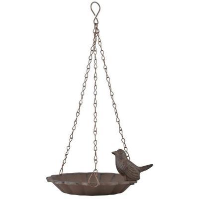 Hängande fågelbad fågel