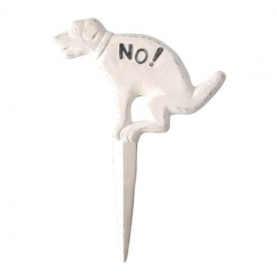 Rastning förbjuden hund
