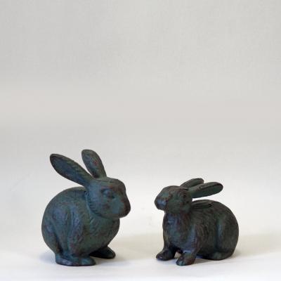 kaniner gjutjärn