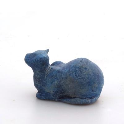 Stenhårt Katt Blå