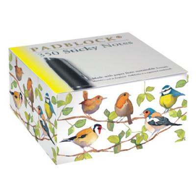 Padblocks Sticky post-it fåglar