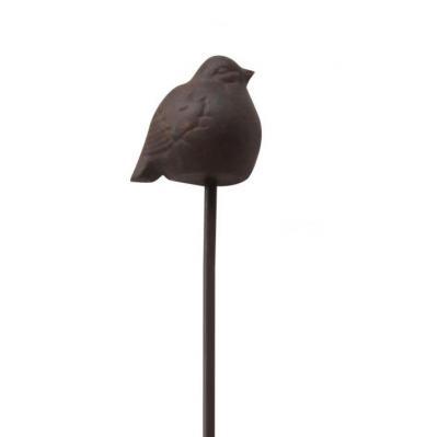 Fågel på spjut Eldgarden