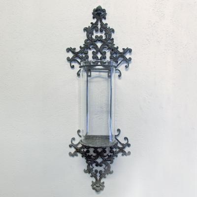 Stor lampett, vägglykta, ljushållare