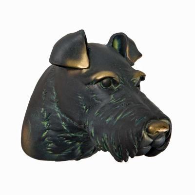 Terrier Huvud Vägg