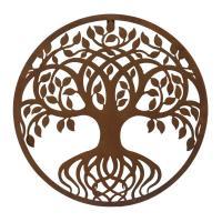 Ek med rötter