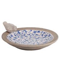 Fågelbad keramik
