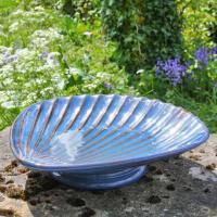 Fågelbad i keramik