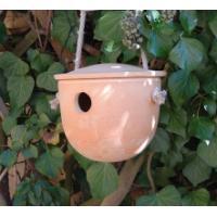 Fågelholk i keramik
