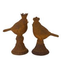 Rostiga fåglar