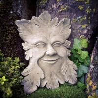 Green Man i betong