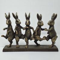 Kaniner som dansar