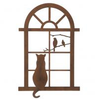 Katt i fönster