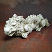 Kinesisk drake i betong