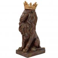 Lejon med guldkrona stor