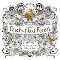 Målarbok för vuxna - Enchanted Forest