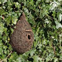 fågelbo hängande nest pocket boficka