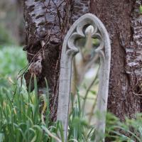 Spegel utomhus trädgård